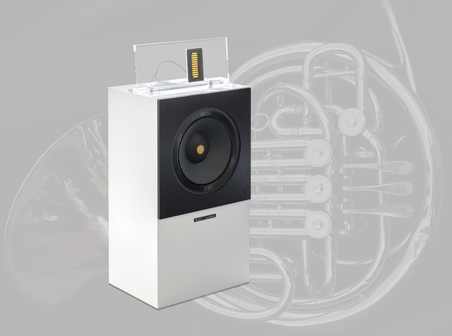 hifi speaker wvl 12639 son available in white gloss, black gloss and acoustic bamboo, true greatness comes from within